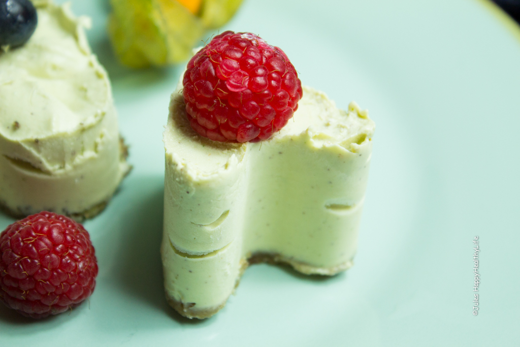 vegan, gluten free lime cheesecake dessert - Jules HappyHealthyLife Food Blog