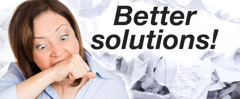 Better solutions for your customer