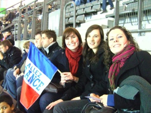 At the Stade de France!