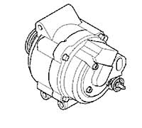 Mini Cooper Alternator Oem Replacement R50 R52 R53