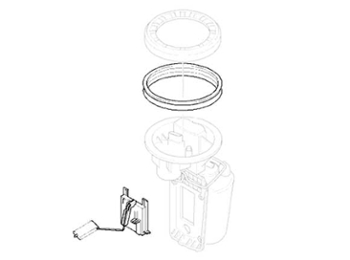 Mini Cooper Fuel Filter Oem Gen2 R55-r59