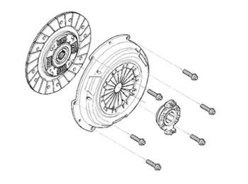 Mini Cooper S Jcw Clutch Kit N14 Oem Gen2 R55-r59