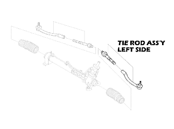 Mini Cooper Tie Rod Assembly Value Line R50 R52 R5