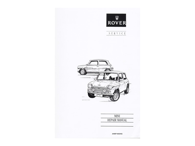 Austin Mini Reprint Of Factory Rover Service Manua