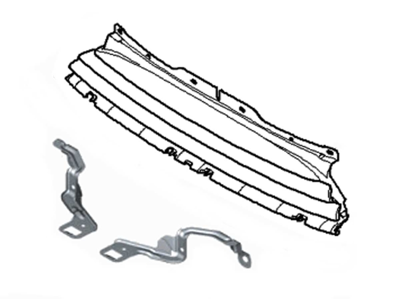 Mini Cooper Grille With Light Brackets Oem Gen2 R5