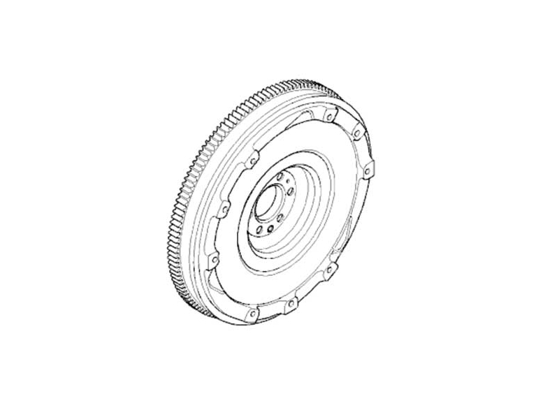 Mini Cooper Flywheel Oem Gen2 R55-r61