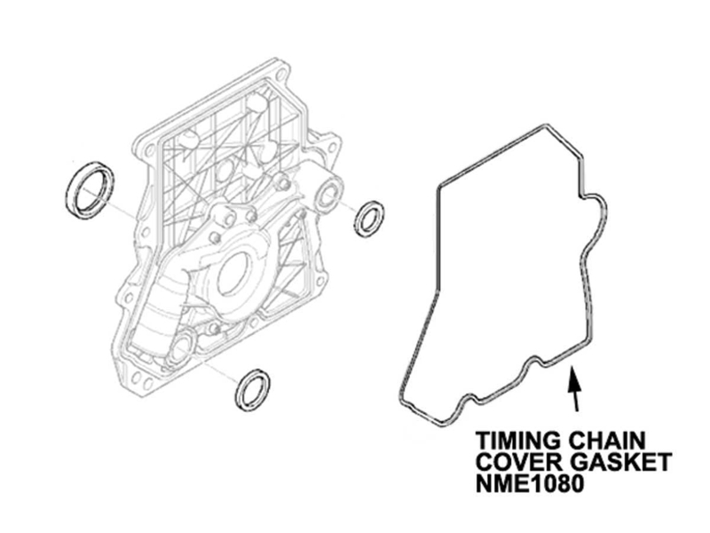 Mini Cooper Timing Chain Cover Gasket, Value Line