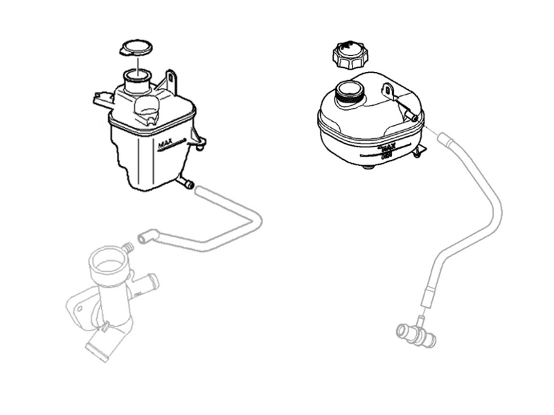 2006 Mini Cooper S Cooling System Diagram