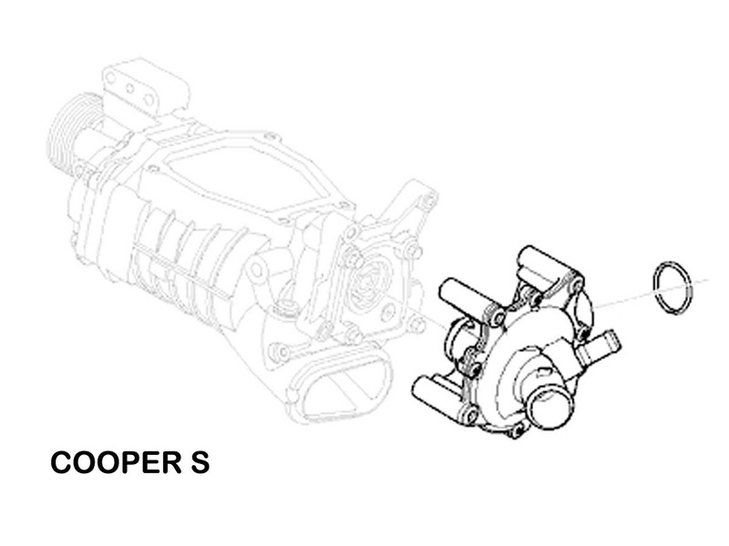Mini Cooper Water Pump Value Line Gen1 R50 R52 R53