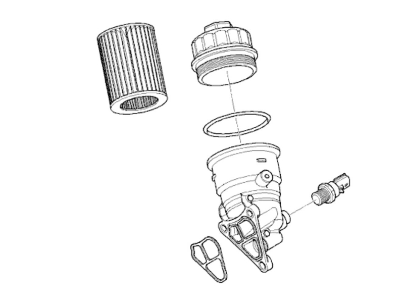 Oem Oil Filter Housing Manual Transmission Mini Co