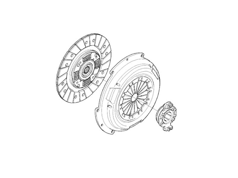 Mini Cooper Clutch Kit Oem R50 R52 R53 Gen 1