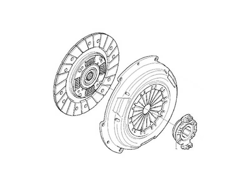 Mini Cooper Clutch Kit Value Line Gen1 R50 R52 R53
