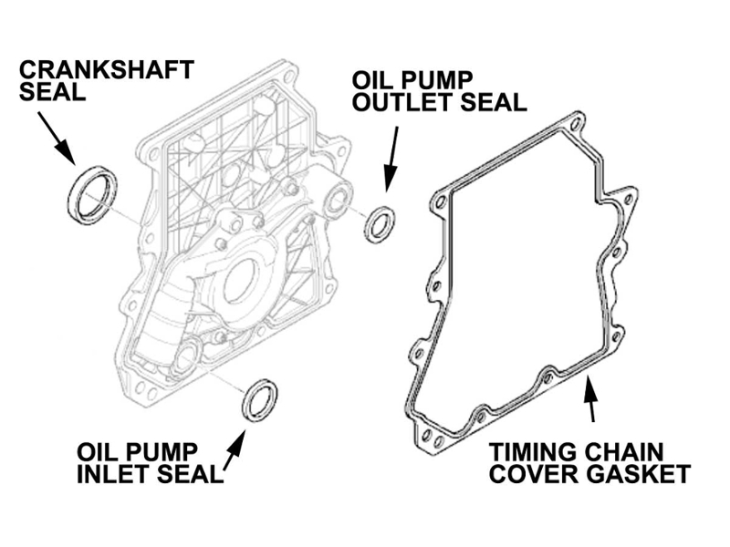 Mini Cooper Timing Chain Kit Oem Gen1 R50 R52 R53