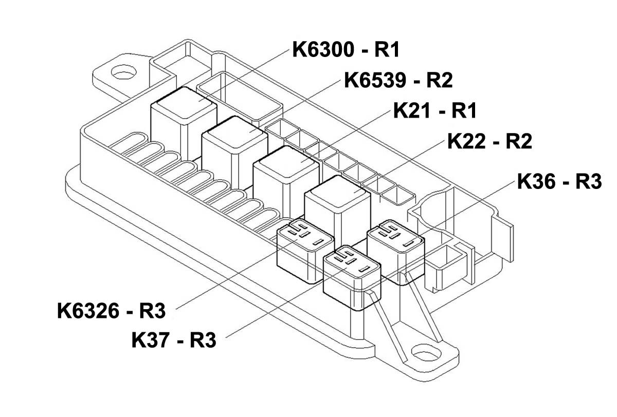 hight resolution of mini cooper relay r2 oem gen2 r55 r61