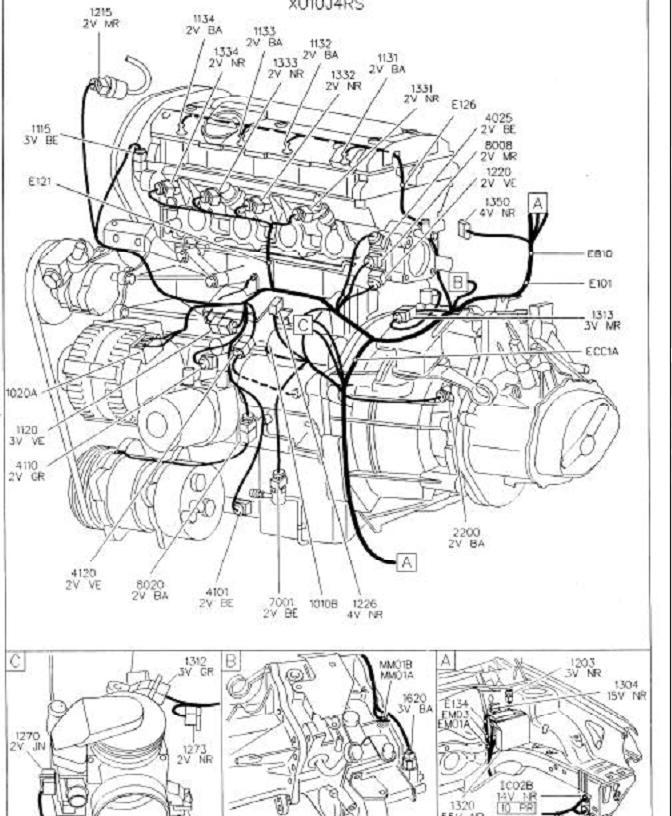 Schema Electrique Peugeot 306 Diesel