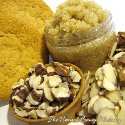 Sugar Cookie Scrub Recipe | The Natural Beauty Workshop