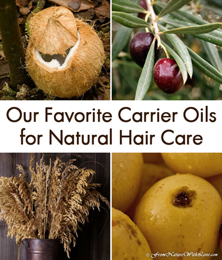 The Ten Best Carrier Oils for Natural Hair Care | The Natural Beauty Workshop