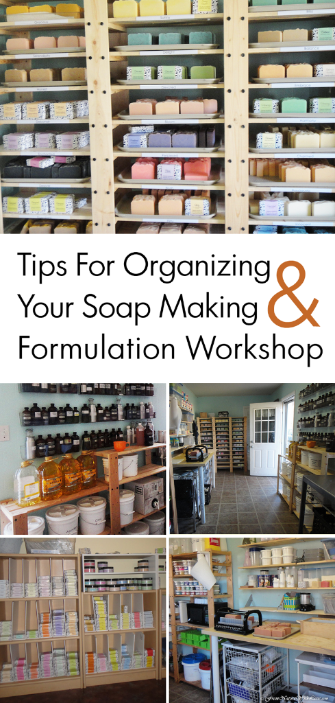 Tips for Organizing Your Soap Making & Formulation Workshop