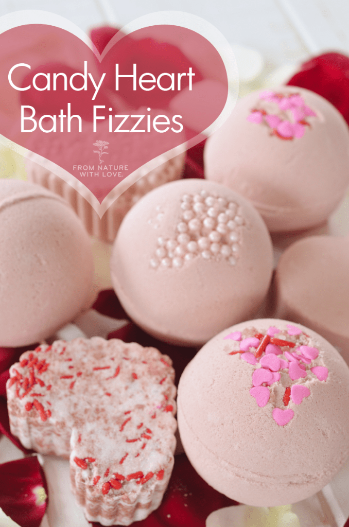 Candy Heart Bath Fizzies