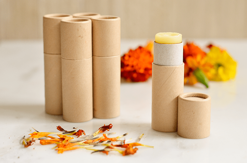 Sweet Orange and Calendula Lip Balms Recipe