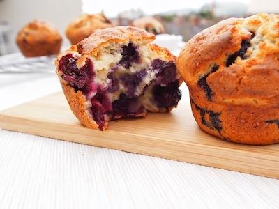 Muffins de Mirtilos 400.300