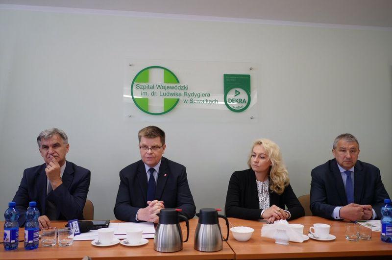 Dotacja dla Szpitala Wojewódzkiego im. dr. Ludwika Rydygiera w Suwałkach