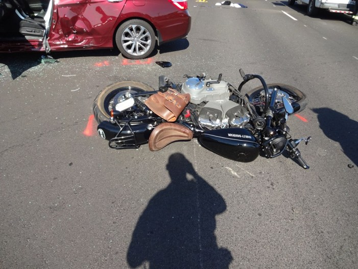 Major Head Trauma In Motorcycle vs Vehicle Accident In Sonora