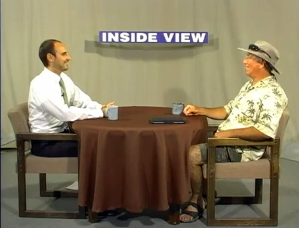 Inside View With Host Joel Metzger and Guest Peter Livanos, Drought Landscaping