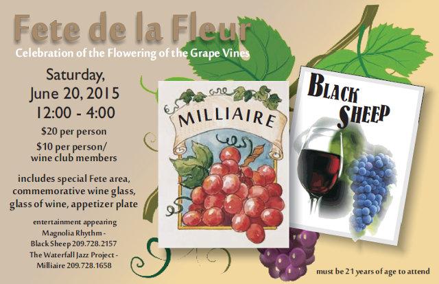 Fête de la Fleur Coming to Murphys June 20