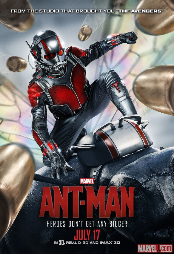 Ant-Man Review: Honey, I Shrunk the Avengers ~ By Brett Bunge