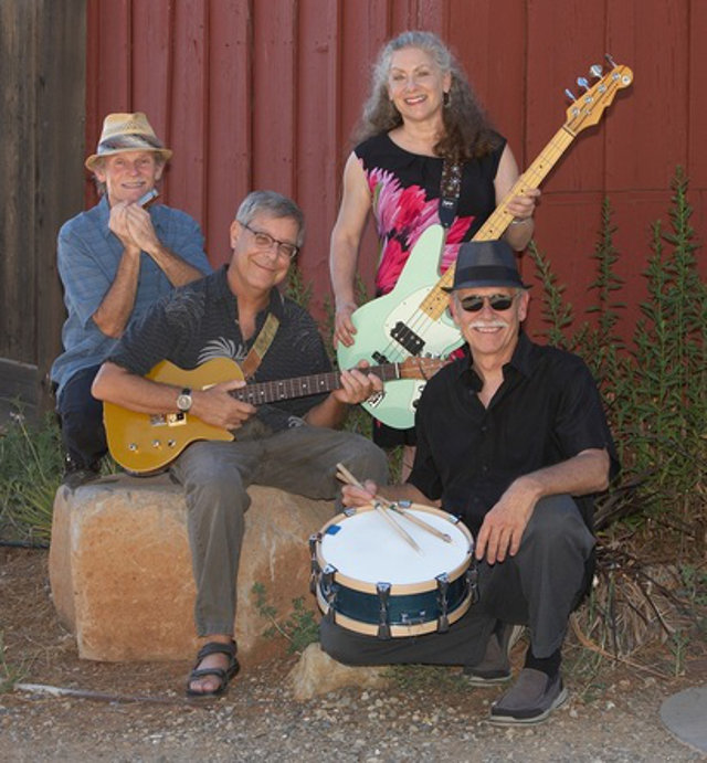 Blues band Julie and the Jukes to Mountain Ranch for Calaveras Arts Free Music in the Parks