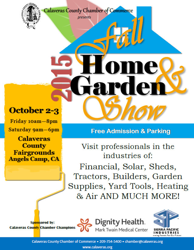 Make Plans To Attend Or Exhibit At The Calaveras Home & Garden Show