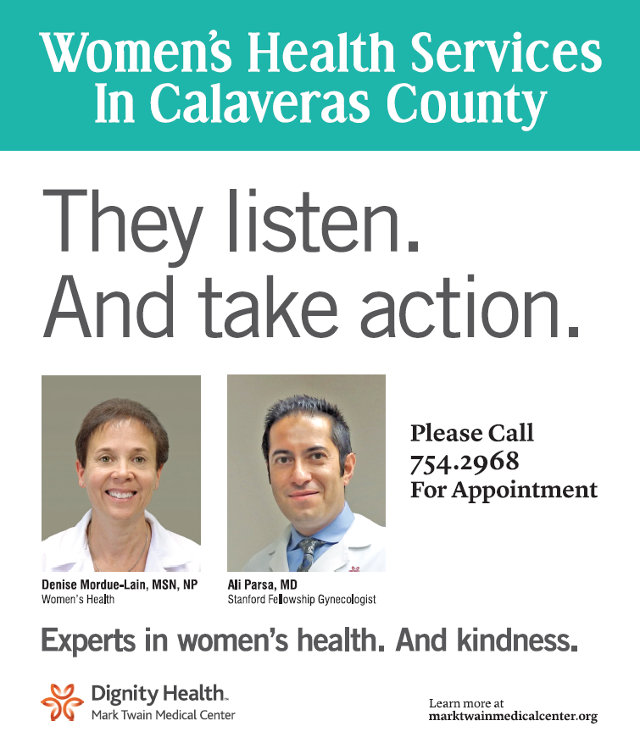 Women's Health Services In Calaveras County…They Listen & Take Action