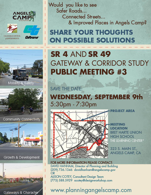 The Big Final Gateway Corridor Study Meeting Is September 9th