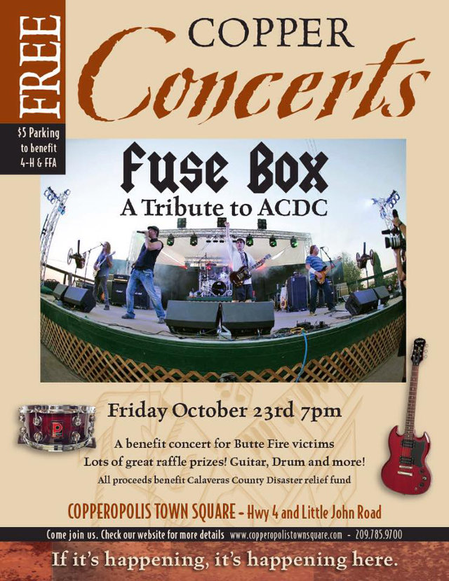 Fuse Box Band : Rock out with ac dc tribute band fuse box benefit butte