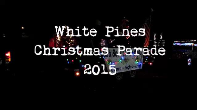 White Pines Christmas Parade 2015 Video