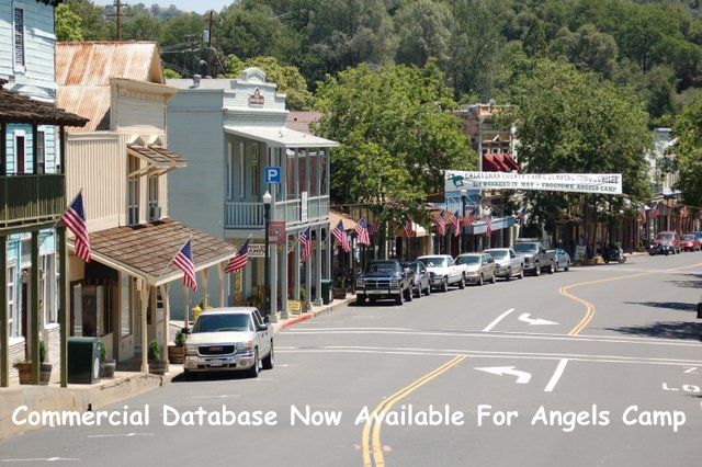 Angels Camp Launches Free Commercial Real Estate Database Easy Access To Properties & Buildings For Lease, Sale Or Rent