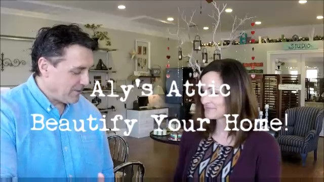 Aly's Attic Can Beautifly Up-Cycle Your Home