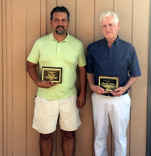 Steve Cox & Paul De Baldo Honored For Their Service To Bret Harte Students