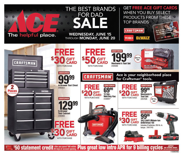 The Best For Dad At Arnold Ace Home Center