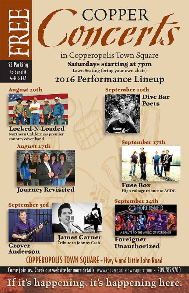James Garner's Tribute To Johnny Cash & Grover Anderson At Copper Concert Series Tomorrow