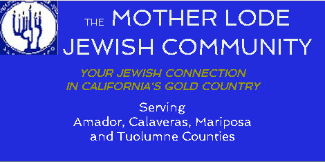 Mother Lode Jewish Community's Shabbat Shuvah – All Welcome
