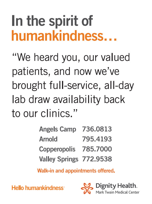 Full Service, All Day, Lab Draw Availability Back At All Mark Twain Medical Clinics!