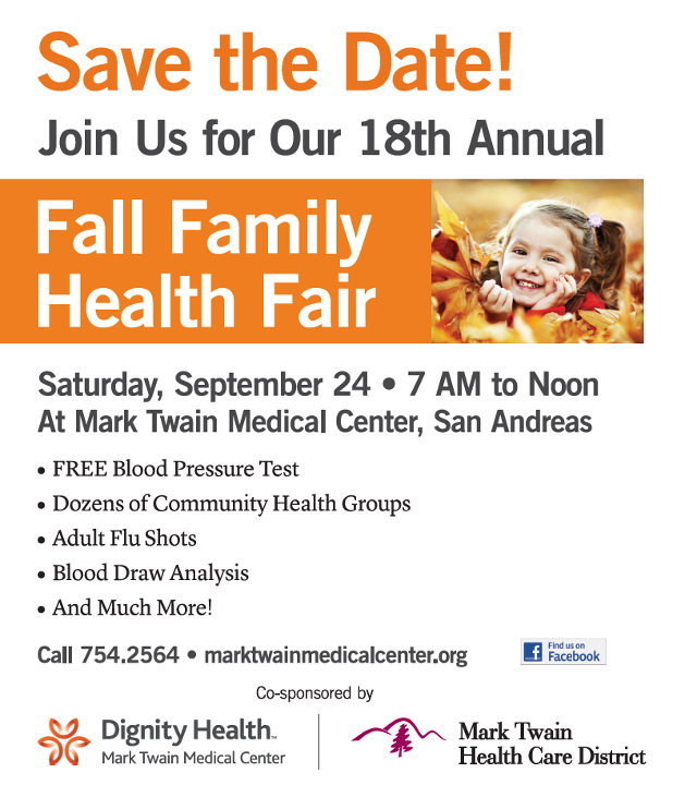 18th Annual Fall Health Fair Is September 24th At Mark Twain Medical Center