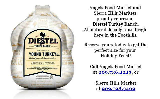 Angels Food & Sierra Hills Markets Weekly Ad Through November 29th!  Shop Local For The Holidays!