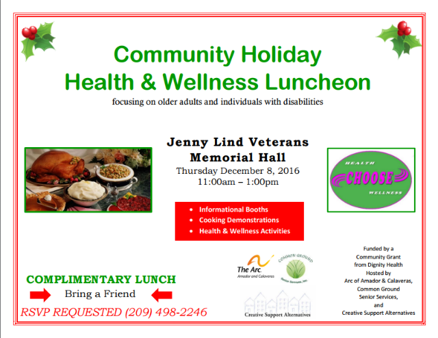 Health & Wellness Luncheon
