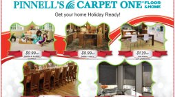 Happy Holidays From Pinnell's Carpet One