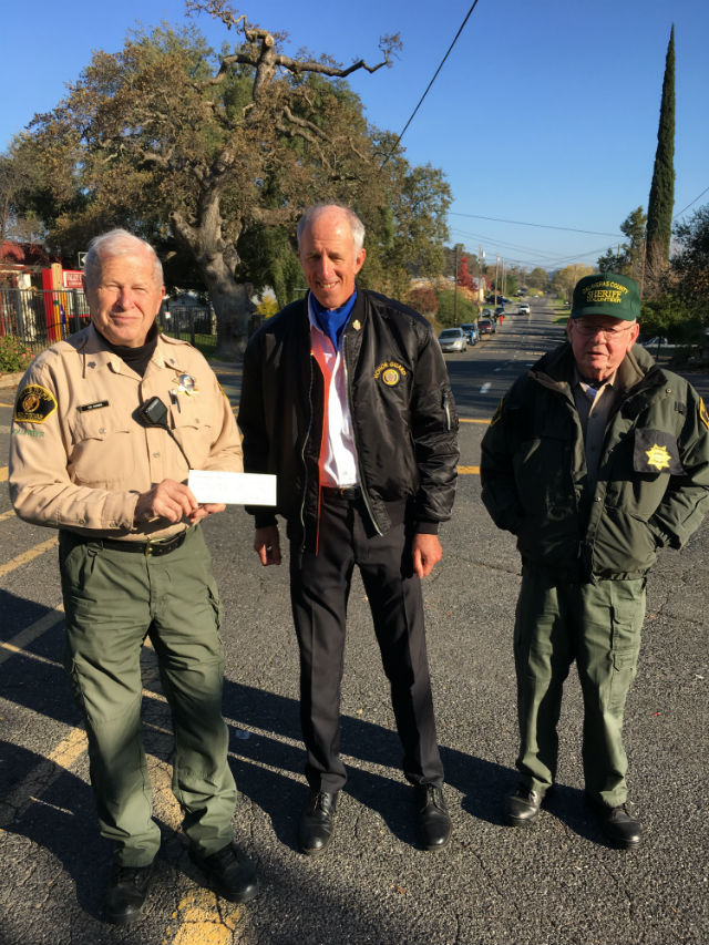 Calaveras County Sheriff Volunteer Unit Receives Gift  From Stockton Bicycle Club