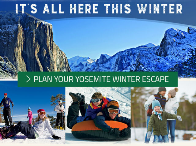 Plan Your Yosemite Winter Getaway!