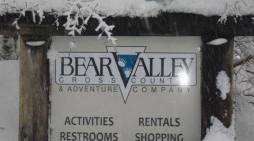 Winter Is Here. Come Up & Enjoy It At Bear Valley Cross Country & Adventure Company
